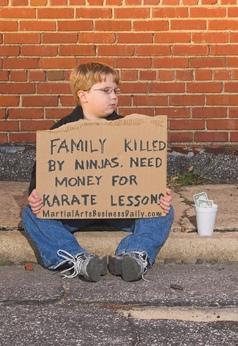 one way to find the money to start a martial art school