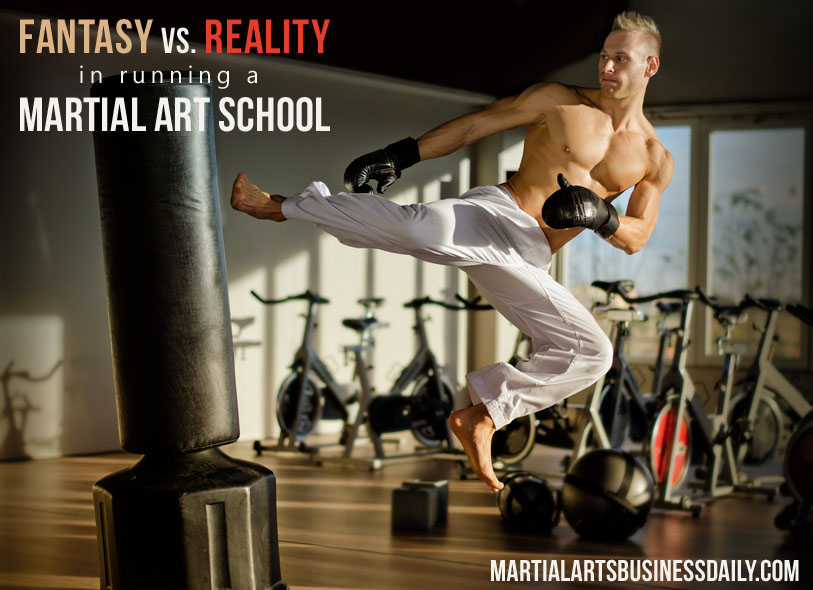 Martial art school reality