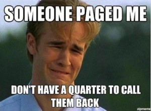 pagers sucked