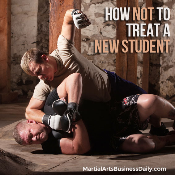 how not to treat students with previous experience