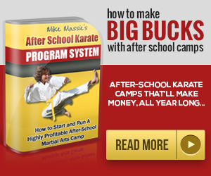 How to Run an After School Karate program