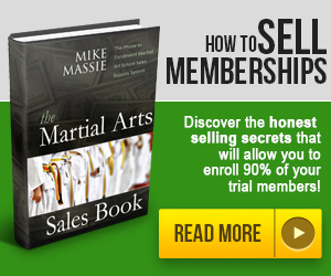 Martial Arts Sales Book