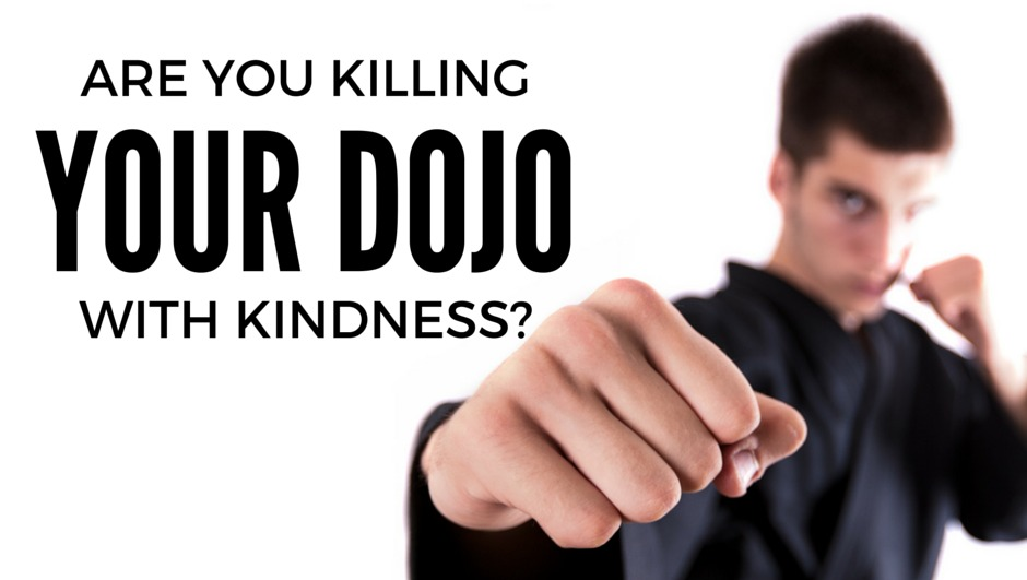 martial art school owners killing their dojo witb kindness