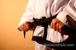 Is a martial arts black belt more than just a piece of cloth to your students?