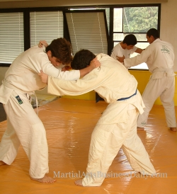 Teaching martial arts by it's very nature requires a great deal of interaction and trust