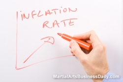 raising your martial arts tuition rates