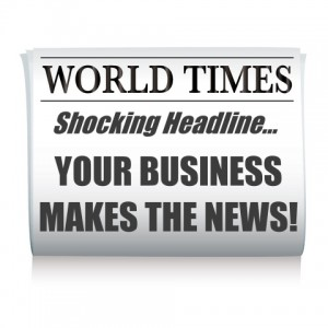 When you know how to get publicity, it's easy to get your business in the news...