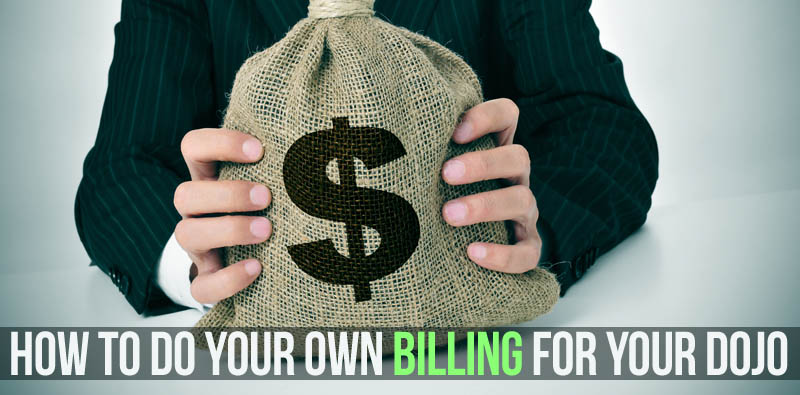 Do your own martial arts billing