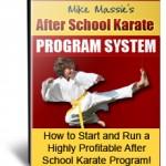 After School Karate Program System