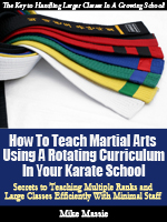 How to Teach Martial Arts Using a Rotating Curriculum