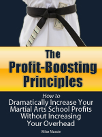 How to boost your martial arts business profits