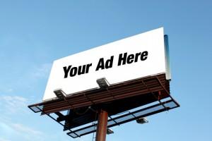 martial arts ad billboard