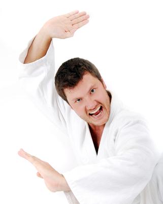 crazy karate teacher