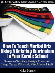 Teaching Martial Arts Classes Using a Rotating Curriculum