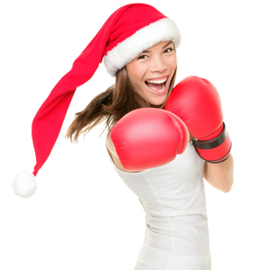 Merry Christmas martial arts business style