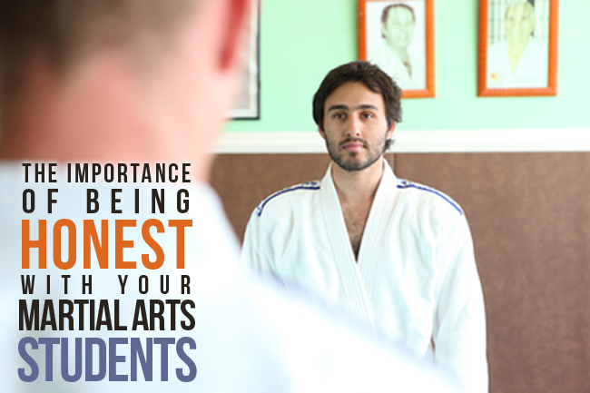 The importance of being honest in your martial arts business