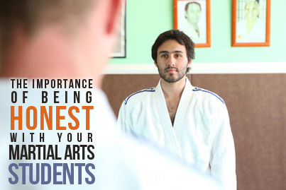 The importance of being honest in the martial arts