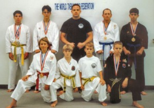 The first group we took to nationals. We had a lot of fun that year, and I was really proud of this group.