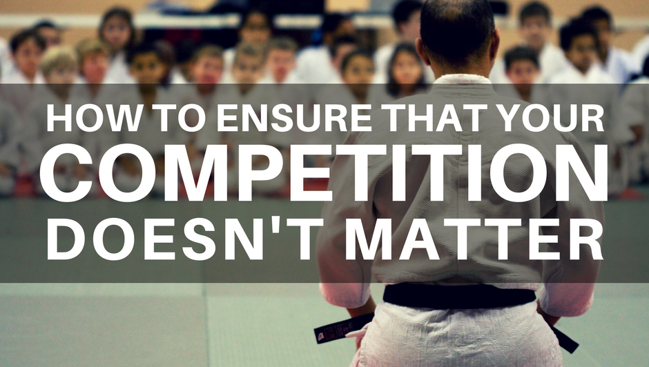 martial arts business competition