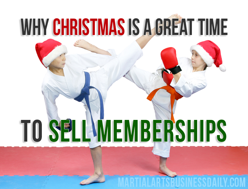 Christmas karate lessons