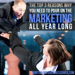 being consistent in your martial arts marketing