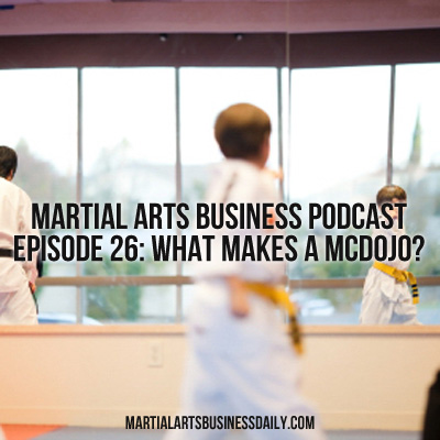 what makes a mcdojo
