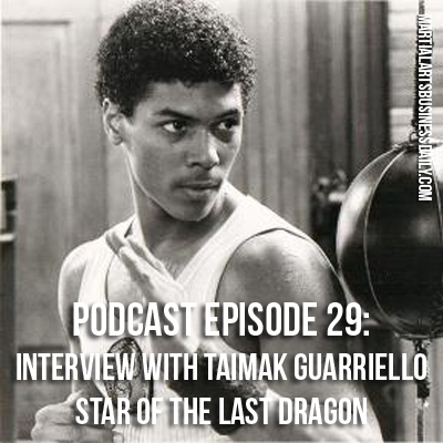 Taimak star of The Last Dragon