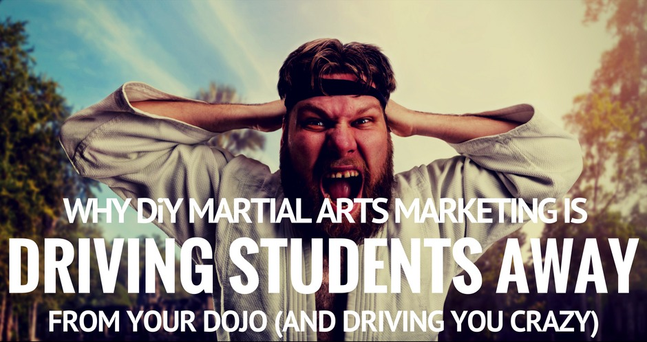 DiY martial arts marketing